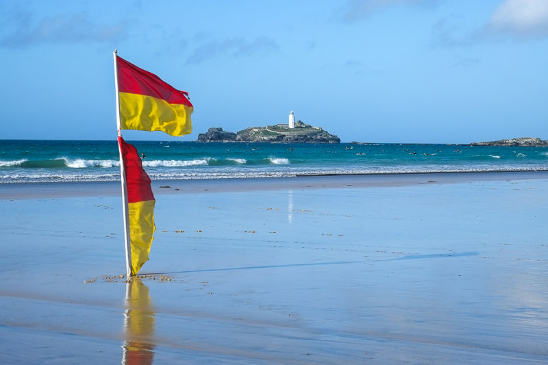 Gwithian sands - Cornwall
