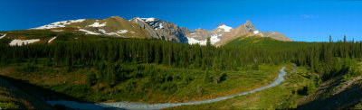 Mt Athabasca. Parkers ridge