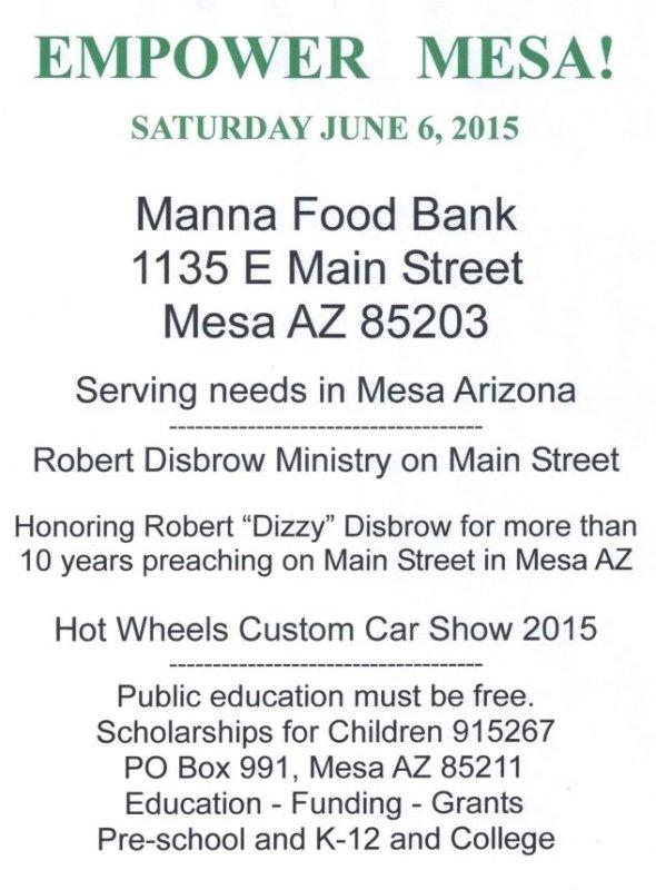 Empower Mesa<br> June 6, 2015