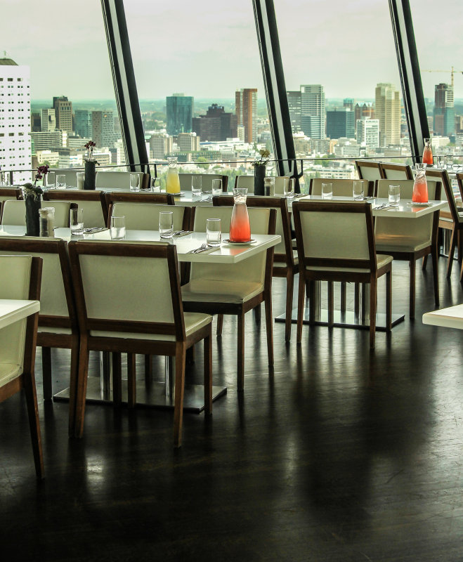 Euromast: high end dining