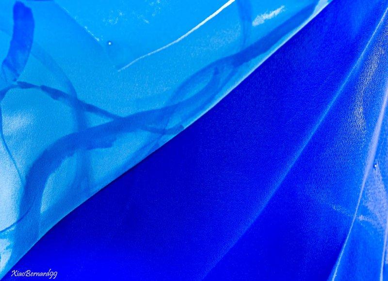 Blue Dress Detail