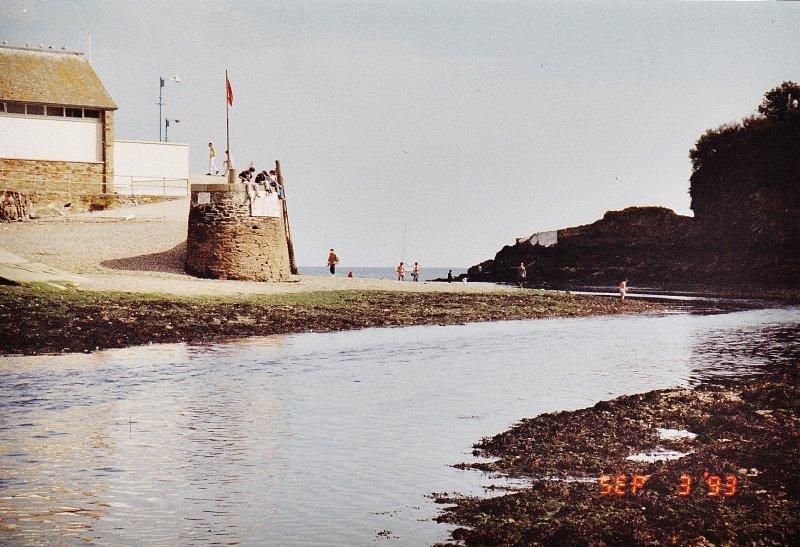 Looe River, Cornwall, low tide