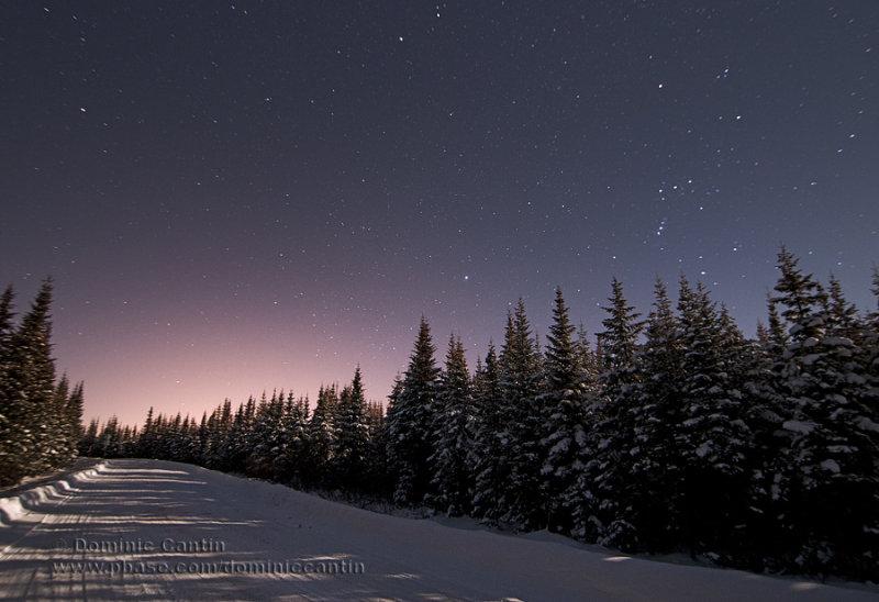 Ciel nocturne dhiver / Winter night sky