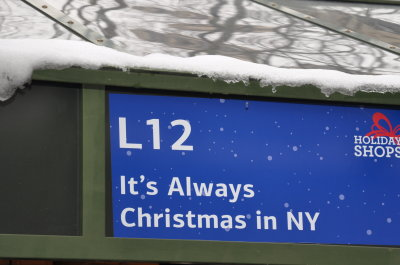 It's Always Christmas in NY