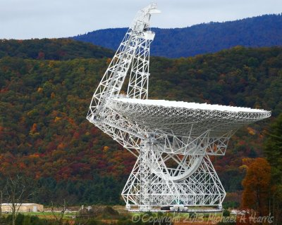 National Radio Astronomy Observatory 100 Meter Telescope