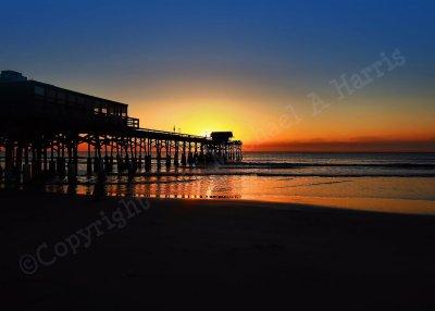 Sunrise at the Cocoa Beach Pier