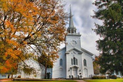 First Presbyterian Church of Cazenovia, New York. Founded 1749