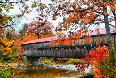 Albany Covered Bridge, White Mountain National Forest, NH