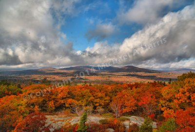 Fall Foliage near Camden Falls, Maine