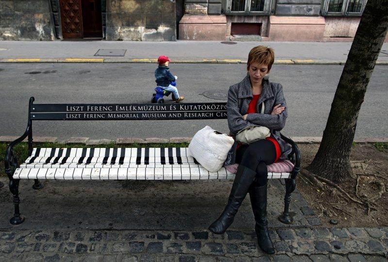 Franz Liszt bench (Liszt Ferenc)