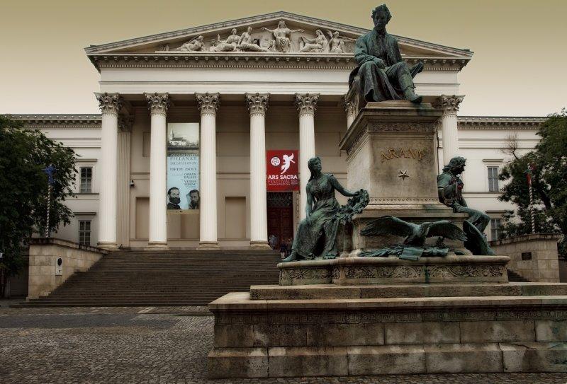 The Hungarian National Museum (Magyar Nemzeti Muzeum )