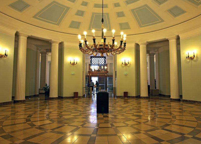 Central Hall of the Hungarian National Museum (Magyar Nemzeti Muzeum)