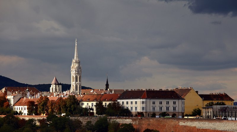 Tower of the Matthias Church (Mátyás-templom)