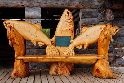 Hansens Wood Carvings Store on the Kenai Peninsula