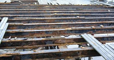 Damage to Cromer Pier