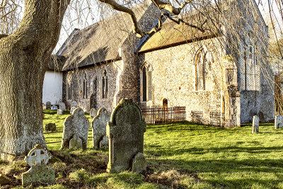 Autumn in the Churchyard