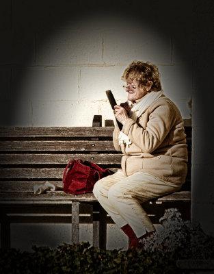 Granny on i Phone