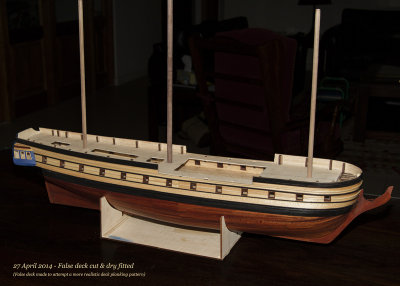 False deck dry fitted (2776)