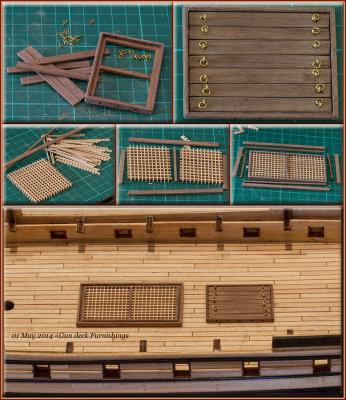 Gun deck furnishings - 01
