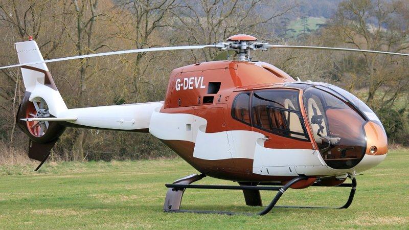 G-DEVL Eurocopter 120B Colibri [1273]