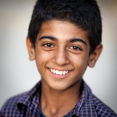 Boy in Jameh Mosque - Esfahan