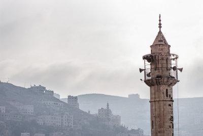Nablus skyline