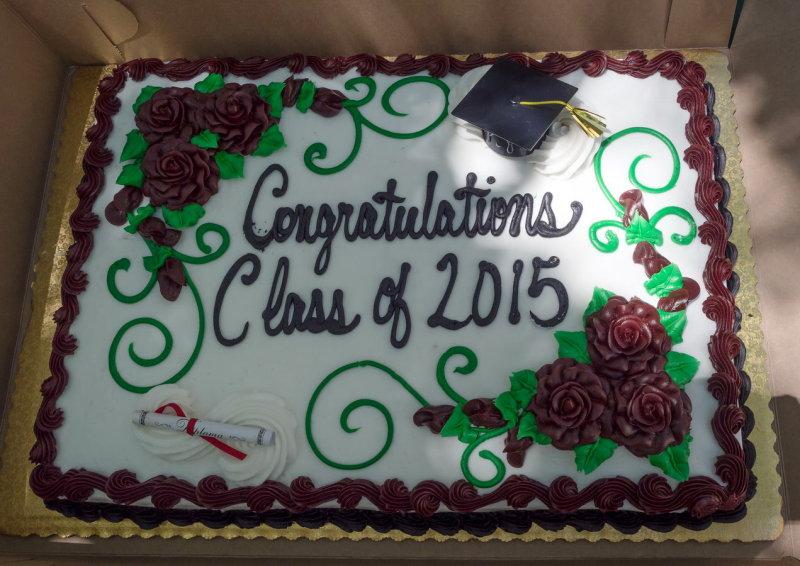 Congratulations to all the graduates
