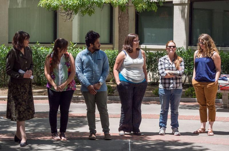 Award winning graduate students