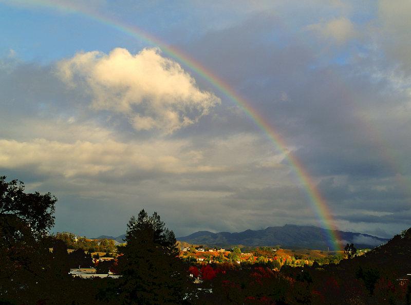 Rainbow Over Diablo