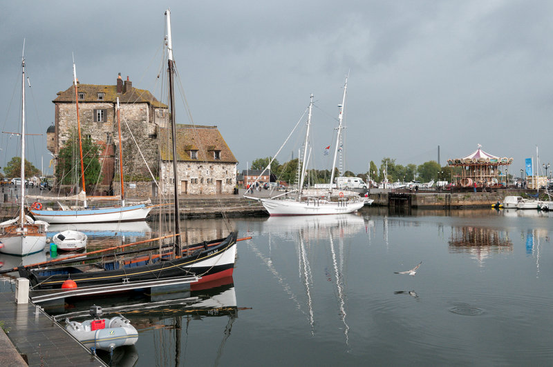 Old Honfleur Harbor