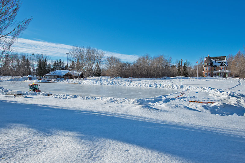 Winter At Bower Ponds