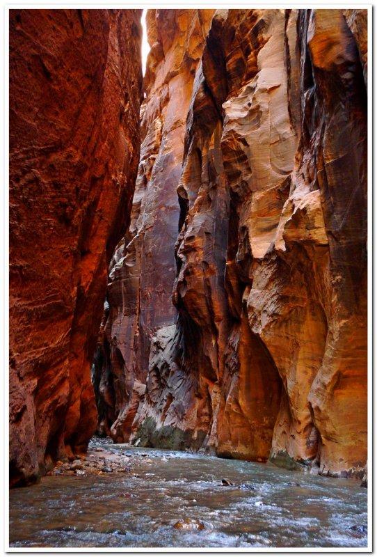 Virgin River Narrows 4, Zion National Park
