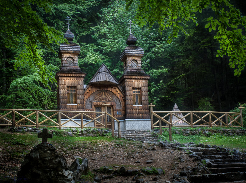 Russian Orthodox Chapel; Vrsic Pass