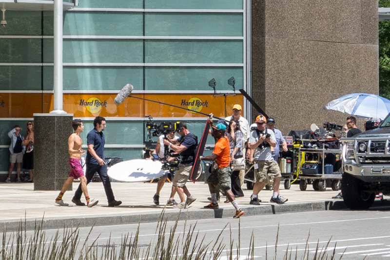 Filming Need for Speed