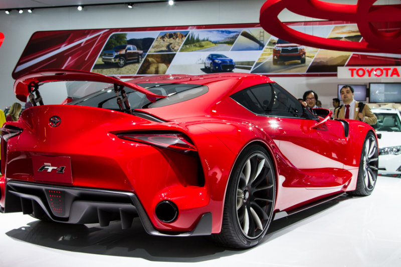 Toyota concept sports car