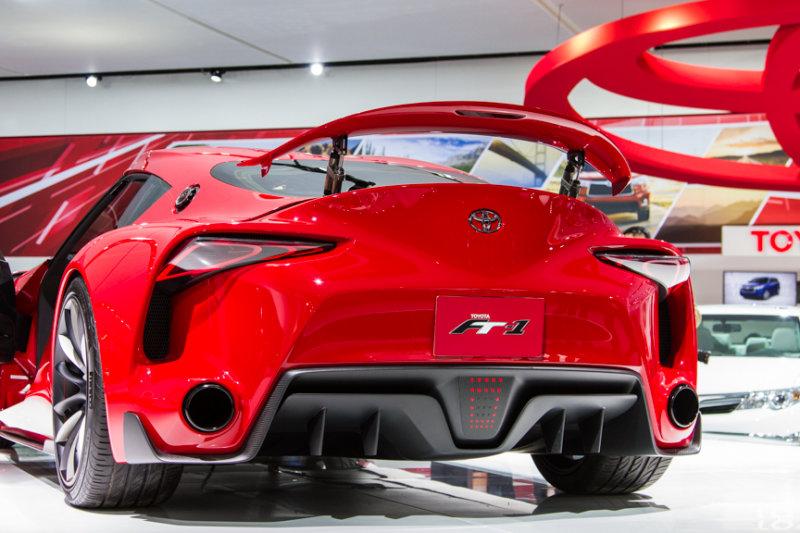 Toyota concept sports car