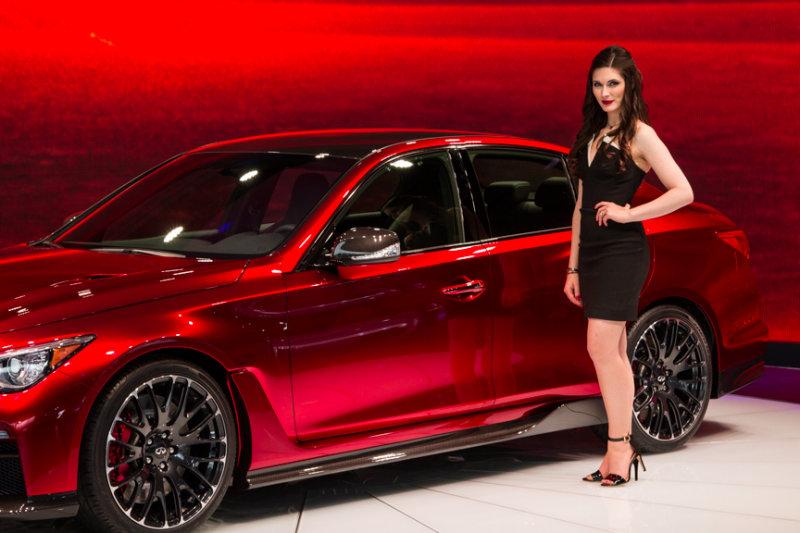 Infinity Q50 Eau Rouge Concept Car