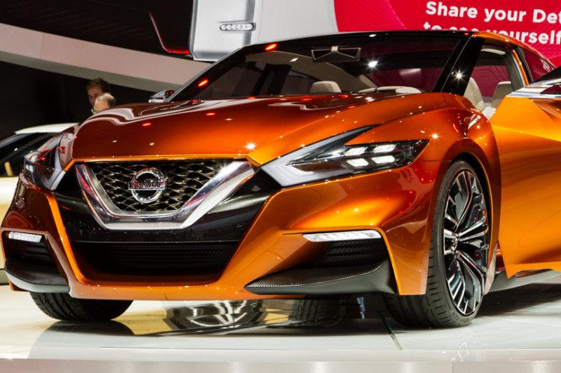 Nissan sport sedan concept vehicle