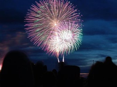 2004-07-24<BR>Harborfest<BR>Grucci Fireworks<BR>Oswego, NY<BR>5 Minute<BR>VIDEO