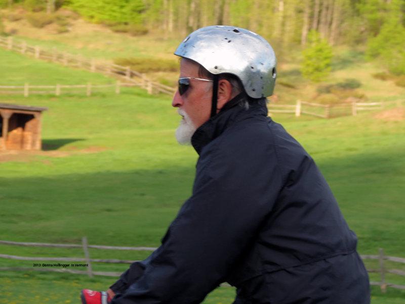 Mark Chute Biker!