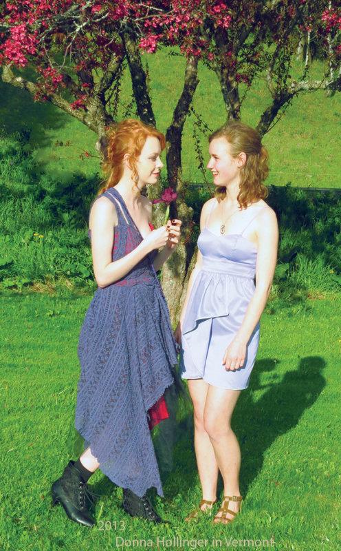 Charlotte and Emma
