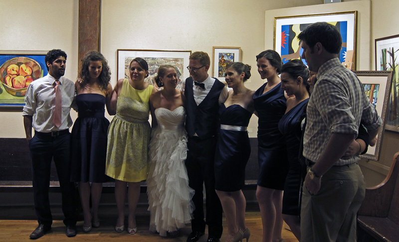 Photos in the Back Room, Erins Wedding