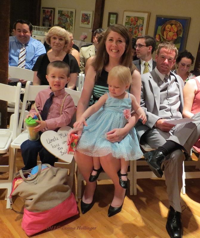 Clare, Sinnead, Blaine, Finn and Nuala Grace