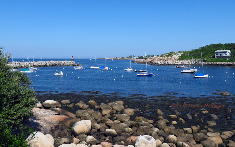 Glimpses of Rockport Harbor