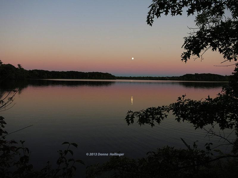 Fresh Pond Sunset Last Night