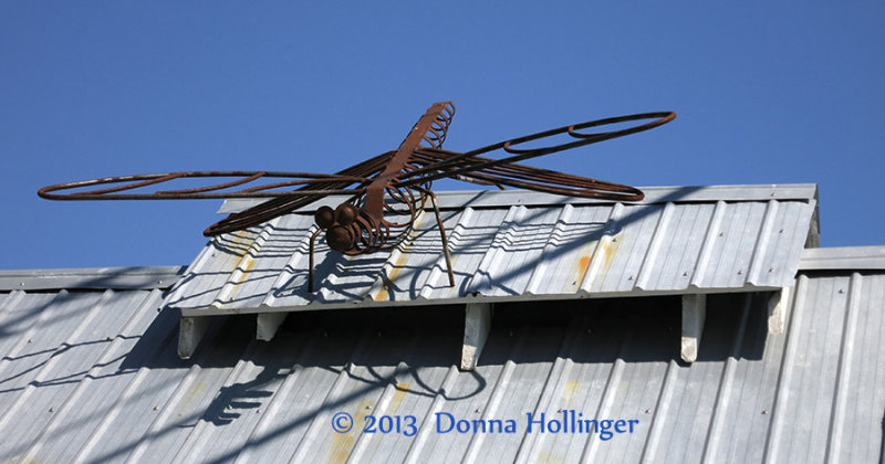 DragonFly Metal Sculpture