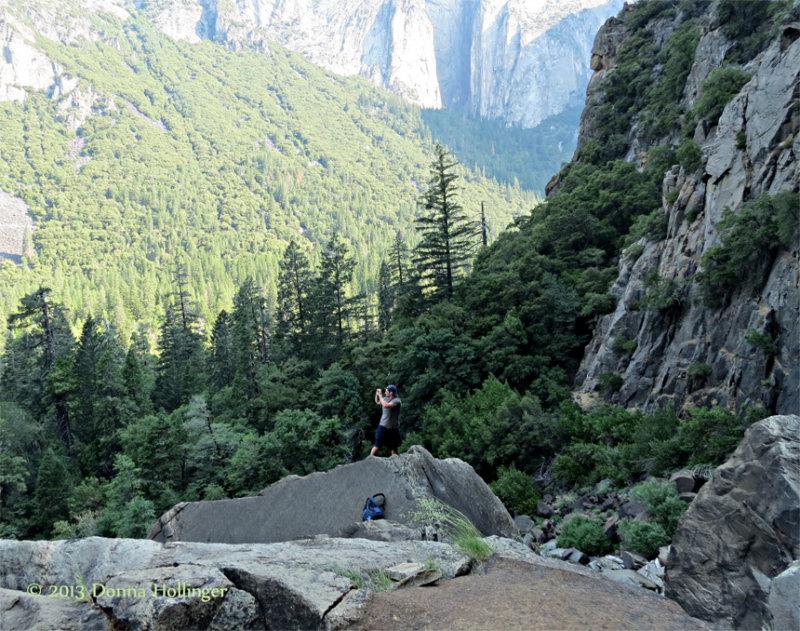 Domenic in Yosemite