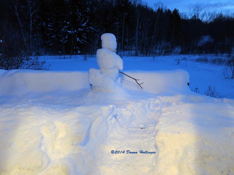 Eccohouse Snowman