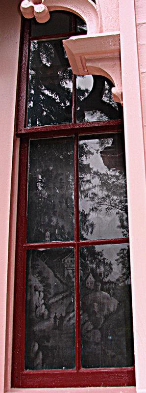 Morrill Homestead Dining Room Window