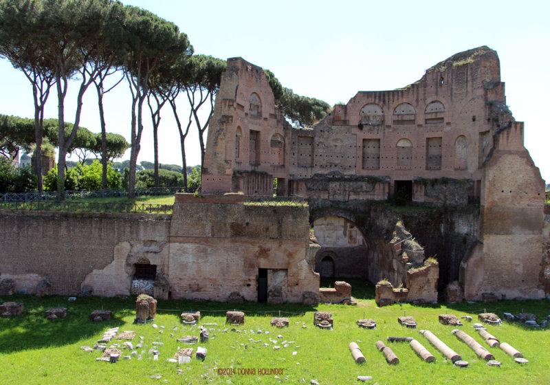 Augustian Palazzo on the Palatine